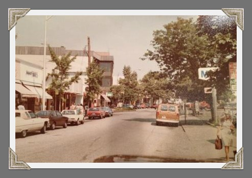 Back in the 1970s, a Mobil station sat opposite Westport Pizzeria. Today, it''s Vineyard Vines.
