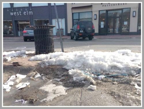 Downtown dump