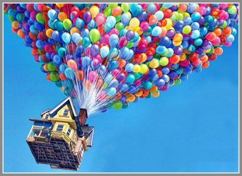 This is NOT what will happen to the house at Greens Farms Road during tomorrow's balloon test.