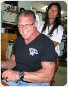 Cal Neff and his wife Surat. (Photo courtesy of Myles MacVane)