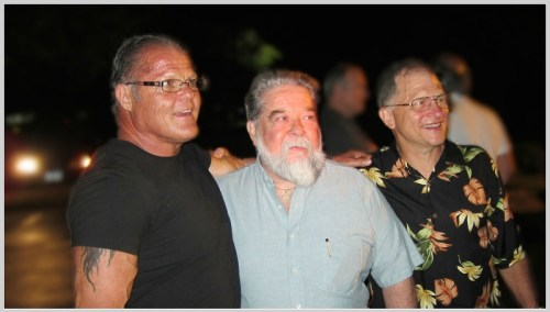 Cal Neff, Terry O'Grady and Gerry Manning. (Photo courtesy of Myles MacVane)
