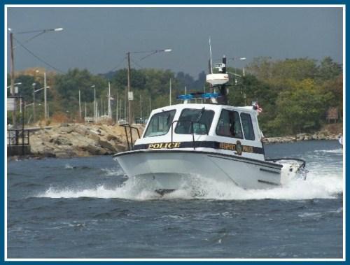 One of the Westport Police Marine Unit's 2 boats. (Photo/Westportct.gov)
