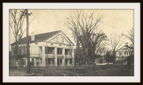 Westport Hotel - site of old Y