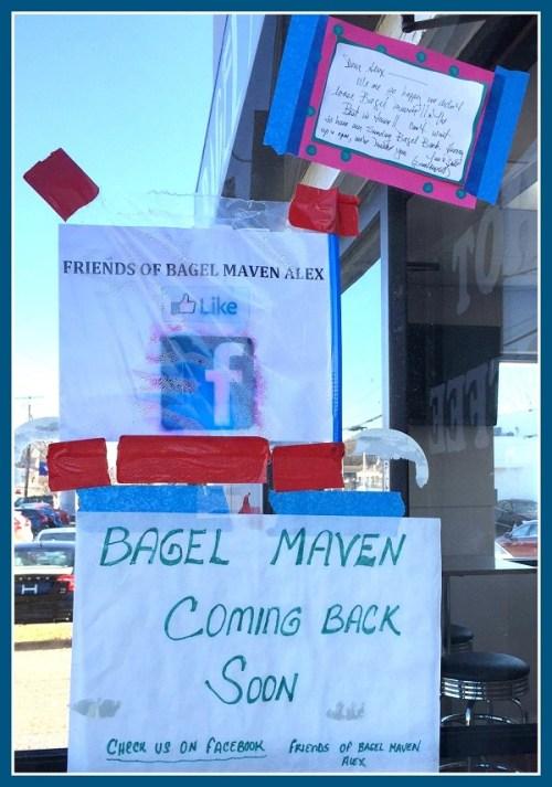 Bagel Maven returns