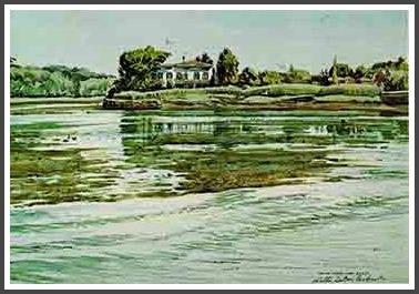 Gorham Island - Walter Dubois Richards