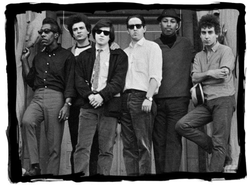 Mark Naftalin (3rd from left) with the Paul Butterfield Blues Band.