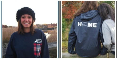 """With shirts and windbreakers, Two Oh Three apparel says there's no place like """"home."""""""