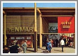 The Denmark Pavilion at the 1964-65 New York World's Fair. (Photo/BrickFetish.com)