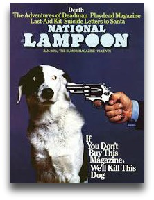 Perhaps the most famous National Lampoon cover of all time.