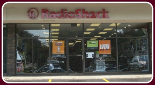 This is the Westport RadioShack. Trust me, it is.