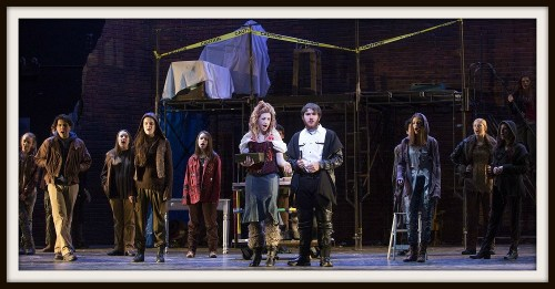 "The cast of ""Sweeney Todd"" gets ready for opening night. (Photo/Kerry Long)"