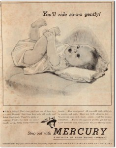 Dorothy Hope Smith's ad for Mercury autos.