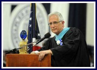 """This year, John Dodig """"graduates"""" with the Class of 2015."""