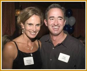 Tom Owen met Debbie Goustin -- his future wife -- at Long Lots Junior High School.