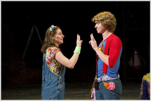 Caroline Didelot and Jack Baylis share a duet. (Photo/Kerry Long)