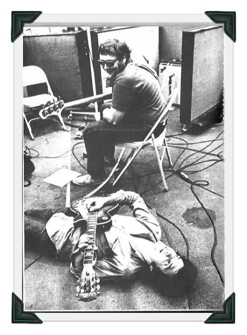 Harvey Brooks and Mike Bloomfield - recording Highway 61