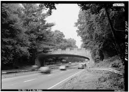 Another view of the Merritt Parkway North Avenue bridge.