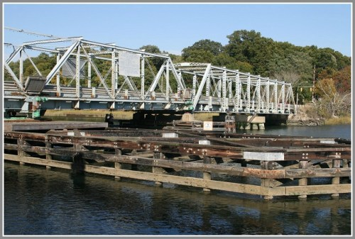 The historic and controversial Bridge Street (William F. Cribari) Bridge. (Photo/Wendy Crowther)