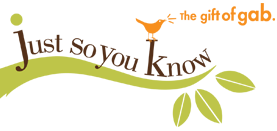 Just So You Know logo