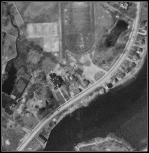 Staples aerial view 1934