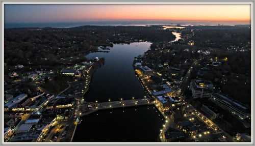 Westport from air - Alan Hamilton quadcopter - December 5, 2015