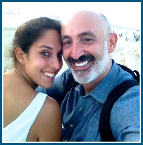 Paloma Aelyon writes lovingly -- and honestly -- about her relationship with her father, Moshe.