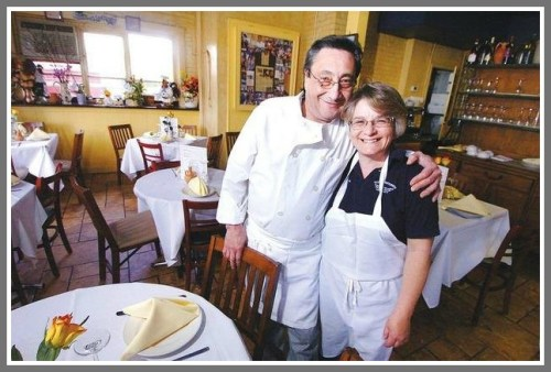 Tutti's owners Pasquale and Maria Funicello -- and their family -- are proud partners in Restaurant Week.