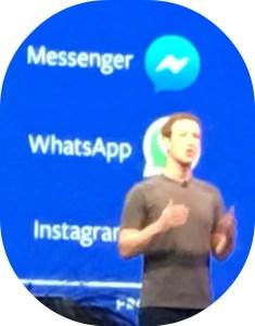 Dylan Diamond was up close for Mark Zuckerberg's keynote address.