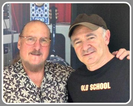 Steve Cropper (left) and Roger Kaufman.