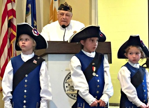 Bill Vornkahl has been organizing Westport's Memorial Day parade for 46 years. That's about 40 years longer than these fife and drum corps members have been alive.