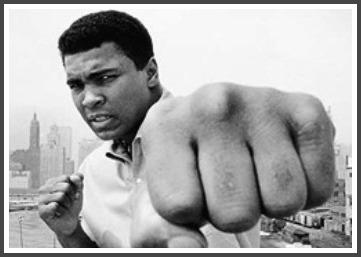 Muhammad Ali punch