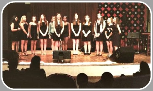 Greens Farms Academy's Harbor Blues singing group performs ...