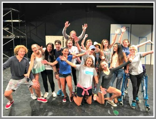 "The ""Footloose"" cast."