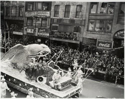 """""""Macy's Parade,"""" 1951."""