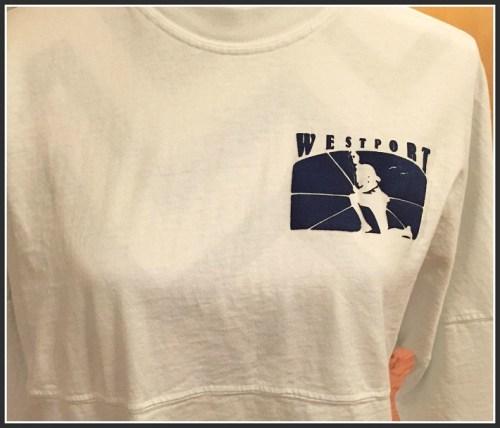 A Westport t-shirt.