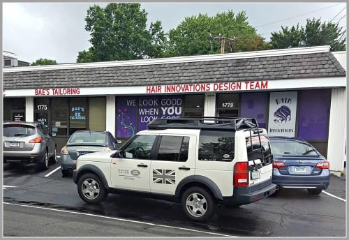 Parking - Range Rover Westfair Center