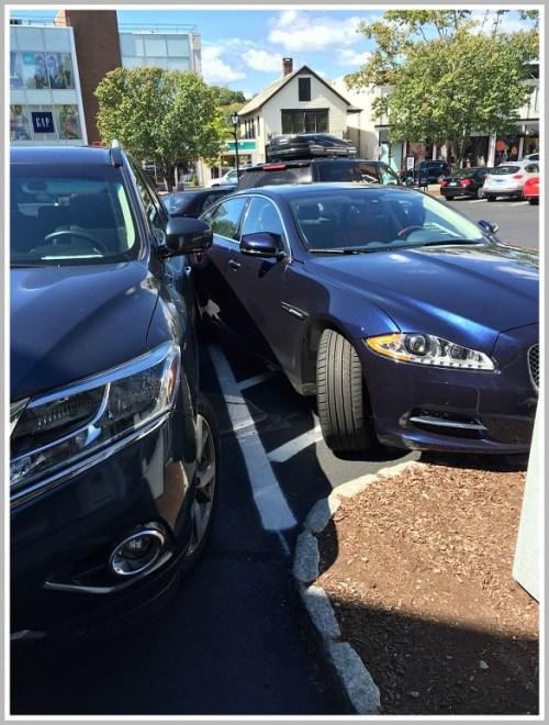 Brooks Corner parking 2 - Sandy Rothenberg