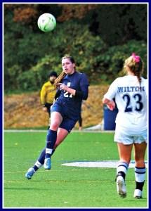 Charlotte Rossi: Staples High School soccer star.