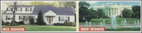 Globe photos of David Rupert's house, and Hillary's.