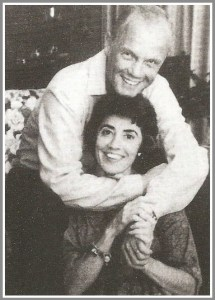 John Glenn and his goddaughter, Jo Ann Miller.