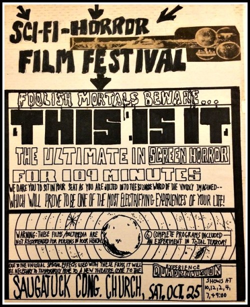A film festival poster