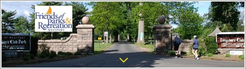The website of the Friends of Parks & Recreation website includes a photo of the Longshore entrance -- before the removal of several trees lining the entrance way. New trees have taken their place.