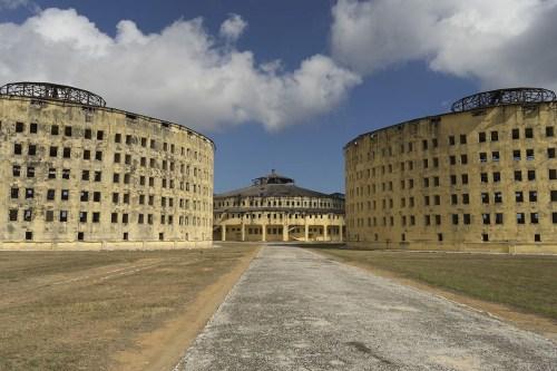 Abandoned prisons. (Photo copyright June Eichbaum)