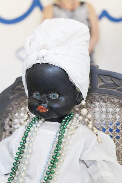 Santeria religious doll. (Photo copyright June Eichbaum)