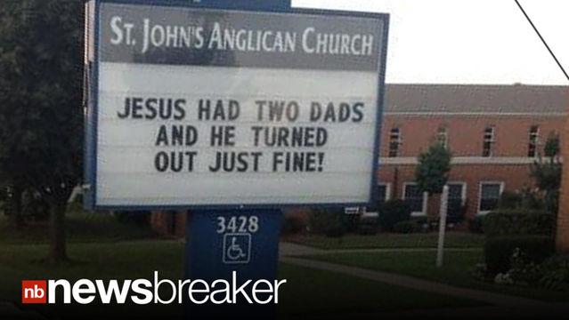 Bill Board On Jesus.