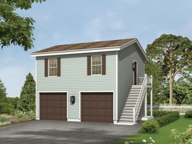 Kalinda Garage Apartment Plan 002d 7528