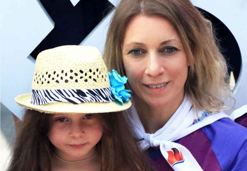 Мария Захарова биография личная жизнь семья муж дети  фото
