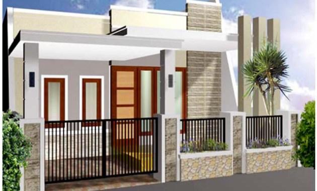 Desain Pagar Mewah Rumah Minimalis