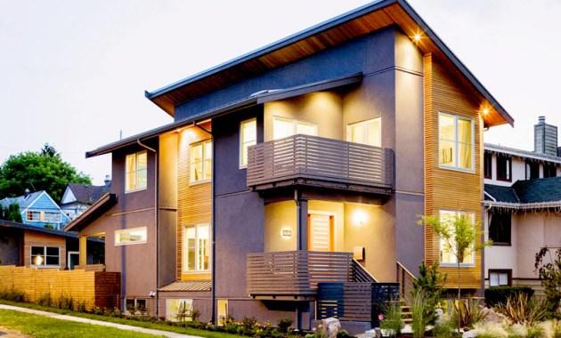 Desain rumah mewah minimalis modern 2 lantai Ala Jepang