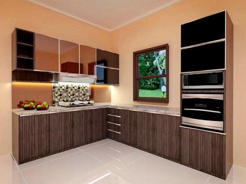 Desain Kitchen Set Minimalis Elegan